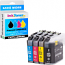 Brother LC227XL / LC225XL CMYK Multipack High Capacity Ink Cartridges (LC227XLVALBP)