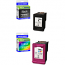 HP 302XL Black & Colour Combo Pack High Capacity Ink Cartridges