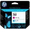 Original HP 761 Magenta & Cyan Printhead (CH646A)