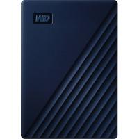 Original Western Digital My Passport for Mac 4TB Midnight Blue USB 3.0 External Hard Drive (WDBA2F0040BBL-WESN)