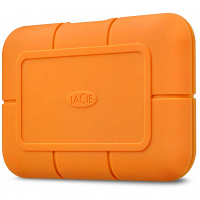 Original LaCie Rugged FireCuda NVMe 500GB Orange External Solid State Drive (STHR500800)
