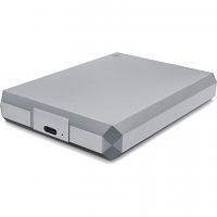 Original LaCie 5TB USB 3.1 Type-C Mobile External Hard Drive Space Gray (STHG5000402)