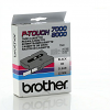 Original Brother TX-131 Black On Clear 12mm x 15m Label Tape Cassette (TX131)