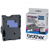 Original Brother TX-141 Black On Clear 18mm x 15m Label Tape Cassette (TX141)