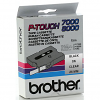 Original Brother TX-151 Black On Clear 24mm x 15m Label Tape Cassette (TX151)