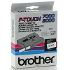 Original Brother TX-231 Black On White 12mm x 15m Label Tape (TX231)