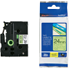 Original Brother TZeC51 Black On Fluorescent Yellow 24mm x 5m Laminated P-Touch Label Tape (TZE-C51)
