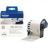 Original Brother DK-22113 Black On Clear 62mm x 15.24m Continuous Clear Film Label Tape (DK22113)