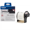 Original Brother DK-22251 Red/Black On White 62mm x 15.24m Continuous Paper Label Roll Tape (DK22251)