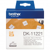 Original Brother DK-11221 Black On White 23mm x 23mm Square Label Tape - 1000 Labels (DK11221)