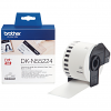 Original Brother DK-N55224 Black On White 54mm x 30.48m Non-Adhesive Paper Label Tape (DKN55224)