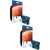 Original Brother LC1100HY Black Twin Pack High Capacity Ink Cartridges (LC1100HYBK)