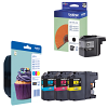 Original Brother LC129XL / LC123 CMYK Multipack Ink Cartridges (LC129XLBKBPRF / LC123RBWBP)