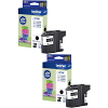 Original Brother LC221BK Black Twin Pack Ink Cartridges (LC221BK)