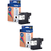 Original Brother LC223 Black Twin Pack Ink Cartridges (LC223BK)