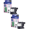 Original Brother LC227XL Black Twin Pack High Capacity Ink Cartridges (LC227XLBK)