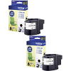Original Brother LC229XL Black Twin Pack High Capacity Ink Cartridges (LC229XLBK)