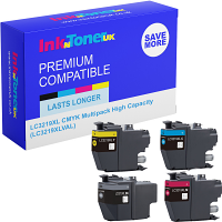 Premium Compatible Brother LC3219XL CMYK Multipack High Capacity Ink Cartridges (LC3219XLVAL)