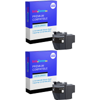 Premium Compatible Brother LC3219XLBK Black Twin Pack High Capacity Ink Cartridges (LC3219XLBK)
