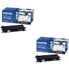 Original Brother TN-135BK Black Twin Pack High Capacity Toner Cartridges (TN135BK)