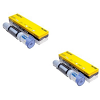 Original Brother TN-200 Black Twin Pack Toner Cartridges (TN200)
