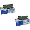 Original Brother TN-2110 Black Twin Pack Toner Cartridges (TN2110)