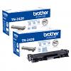 Original Brother TN-2420 Black Twin Pack High Capacity Toner Cartridges (TN2420)