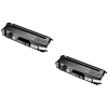 Original Brother TN-320BK Black Twin Pack Toner Cartridges (TN320BK)
