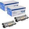 Original Brother TN-3390 Black Twin Pack Super High Capacity Toner Cartridges (TN3390TWIN)
