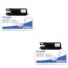 Original Brother TN-5500 Black Twin Pack Toner Cartridges (TN5500)
