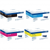 Original Brother TN910 CMYK Multipack Toner Cartridges (TN910BK/ TN910C/ TN910M/ TN910Y)