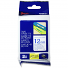 Original Brother TZe-233 Blue On White 12mm x 8m Laminated P-Touch Label Tape (TZE233)