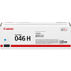 Original Canon 046H-C Cyan High Capacity Toner Cartridge (1253C002)