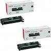 Original Canon 701 Black Twin Pack High Capacity Toner Cartridges (9287A003AA)