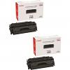 Original Canon 720 Black Twin Pack Toner Cartridges (2617B002AA)