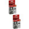 Original Canon BCI-6BK Black Twin Pack Ink Cartridges (4705A002)