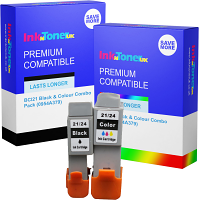 Premium Compatible Canon BCI21 Black & Colour Combo Pack Ink Cartridges (0954A379)