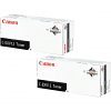Original Canon C-EXV12 Black Twin Pack Toner Cartridges (9634A002AA)