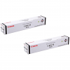 Original Canon C-EXV33 Black Twin Pack Toner Cartridges (2785B002AA)