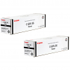 Original Canon C-EXV36 Black Twin Pack Toner Cartridges (3766B002)