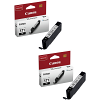 Original Canon CLI-571BK Black Twin Pack Ink Cartridges (0385C001)