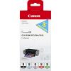 Original Canon CLI-8 BK, PC, PM, R, G Multipack Ink Cartridges (0620B027)