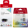 Original Canon CLI-8 C, M, Y, K, PC, PM, R, G Multipack Ink Cartridges (0620B027 / 0621B029)
