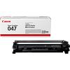 Original Canon 047 Black Toner Cartridge (2164C002)