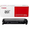 Original Canon 051 Black Toner Cartridge (2168C002)