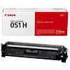 Original Canon 051H Black High Capacity Toner Cartridge (2169C002)