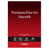 Original Canon FA-SM1 310gsm Premium Fine Art Smooth A4 Cotton Matte Photo Paper - 25 Sheets (1711C001)