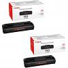 Original Canon FX3 Black Twin Pack Toner Cartridges (1557A003BA)