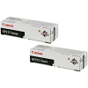 Original Canon GP215 Black Twin Pack Toner Cartridges (1388A002)