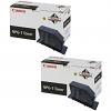 Original Canon NPG-7 Black Twin Pack Toner Cartridges (1377A003AC)